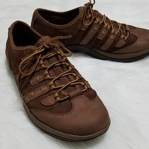 Earth Kalso Racer Brown Suede and Nubuck size 10